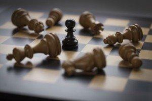 Chess - fallen