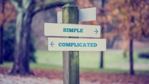 Simple and complicated